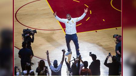 LeBron James, small forward Cleveland Cavaliers. - INDOSPORT