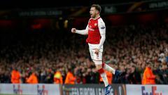 Indosport - Aaron Ramsey, pemain Arsenal.