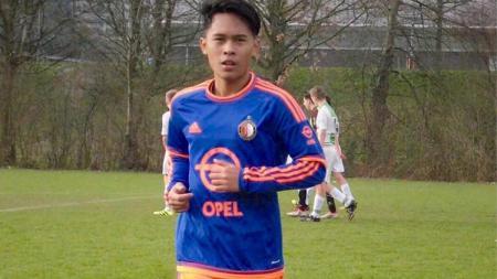 Yussa Nugraha mencetak satu assist untuk tim U-19 HBS Craeyenhout kala mengalahkan SVV Scheveningen dengan skor 5-0 pada Sabtu (19/10/19) lalu. - INDOSPORT