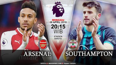 Prediksi Arsenal vs Southampton - INDOSPORT