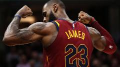 Indosport - LeBron James, small forward Cleveland Cavaliers.