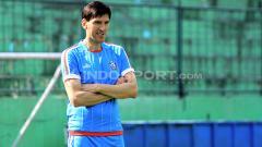 Indosport - Pelatih Arema FC, Milan Petrovic.