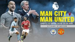 Indosport - Manchester City vs Manchester United