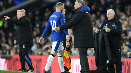 Wayne Rooney resmi meninggalkan Everton. - INDOSPORT