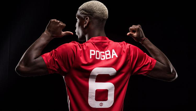 Paul Pogba, pemain bintang Man United. Copyright: INDOSPORT