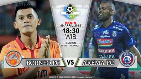 Prediksi Borneo FC vs Arema FC - INDOSPORT