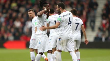 Penyerang Crystal Palace, Wilfried Zaha - INDOSPORT