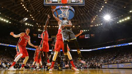 Golden State Warriors vs New Orleans Pelicans. - INDOSPORT