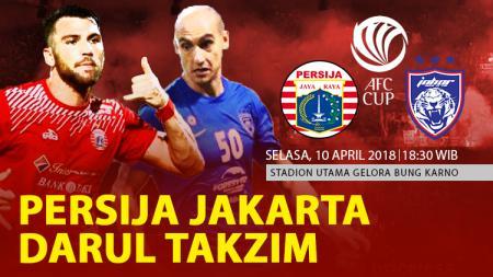 Prediksi Persija Jakarta vs Johor Darul Takzim. - INDOSPORT