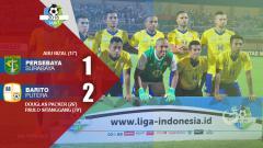 Indosport - Hasil pertandingan Persebaya Surabaya vs Barito Putera.