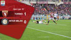 Indosport - Hasil pertandingan Torino vs Inter Milan.