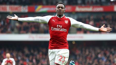 Danny Welbeck, striker Arsenal. - INDOSPORT