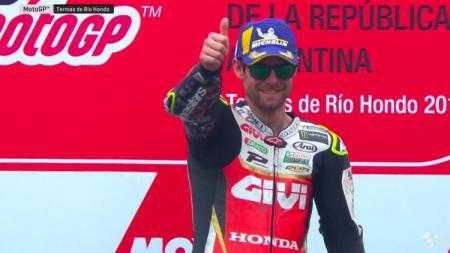 Cal Crutchlow mengaku belum berpikir untuk pensiun dari MotoGP. - INDOSPORT