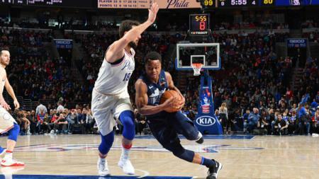 Philadelphia 76ers vs Dallas Mavericks. - INDOSPORT
