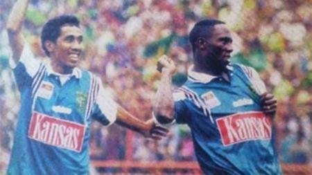 Jacksen F Tiago merupakan salah satu pemain Samba di Persebaya pada masanya. - INDOSPORT