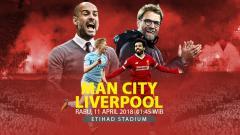 Indosport - Prediksi Manchester City vs Liverpool.