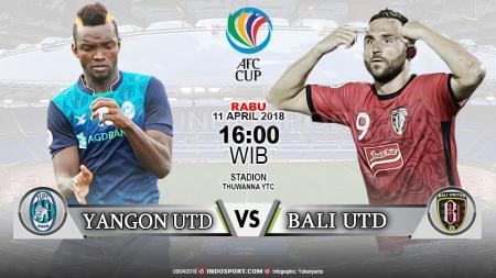 Prediksi Yangon United vs Bali United - INDOSPORT