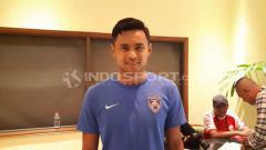 Indosport - Bek Johor Darul Takzim, Aidil Zafuan.