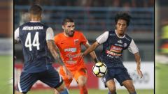 Indosport - Borneo FC vs Arema FC