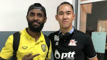 Yanto Basna bersama Ryuji Utomo - INDOSPORT