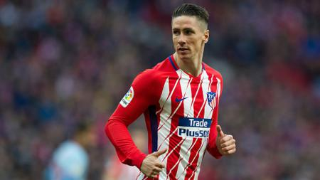 Fernando Torres, mantan striker Atletico Madrid. - INDOSPORT