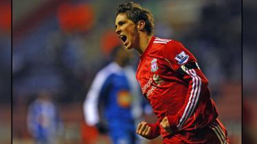 Fernando Torres saat masih membela Liverpool. - INDOSPORT