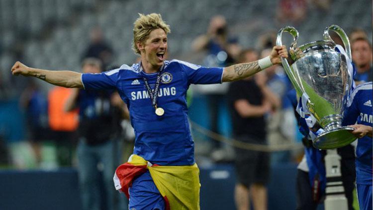 Fernando Torres, Fernando Torres, saat masih di Chelsea. Copyright: Getty Image