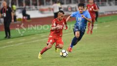 Indosport - Riko Simanjuntak, gelandang sayap Persija Jakarta.
