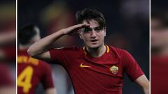 Indosport - Cengiz Under, gelandang sayap kanan AS Roma.