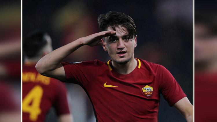 Cengiz Under, gelandang sayap kanan AS Roma. Copyright: Getty Images