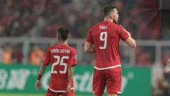 Indosport - Marko Simic dan Riko Simanjuntak.