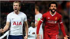 Indosport - Top Skor Liga Inggris Hari Ini: Harry Kane Gagal Jauhi Mohamed Salah.