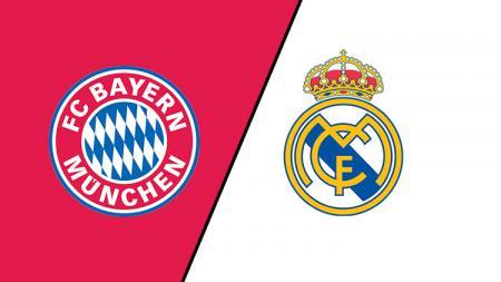 Real Madrid dikabarkan bakal ketiban durian runtuh imbas dari pandemi Covid-19 yang membuat Bayern Munchen didera krisis finansial. - INDOSPORT