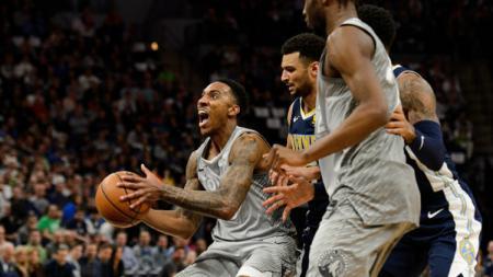 Denver Nuggets vs Minnesota Timberwolves. - INDOSPORT