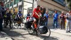Indosport - Mohamed Nofal, pendukung Timnas Mesir.