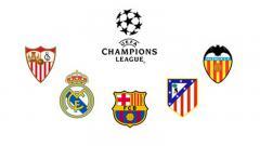 Indosport - Klub Spanyol yang kerap bermain di Liga Champions.