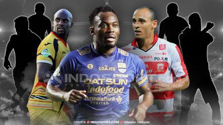 Mohamed Sissoko, Michael Essien dan Peter Odemwingie - INDOSPORT