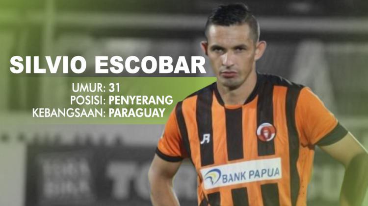 Perseru Serui vs Bhayangkara FC (Silvio Escobar). Copyright: INDOSPORT