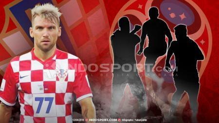 Pemain Kroasia, Marko Simis. - INDOSPORT
