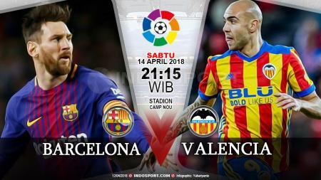 Prediksi Barcelona vs Valencia - INDOSPORT