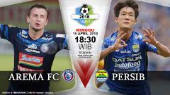 Indosport - Prediksi Arema FC vs Persib Bandung