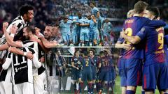 Indosport - 4 Pemuncak Klasemen Liga Top Eropa