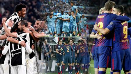 4 Pemuncak Klasemen Liga Top Eropa - INDOSPORT