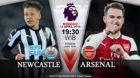 Prediksi Newcastle United vs Arsenal. - INDOSPORT