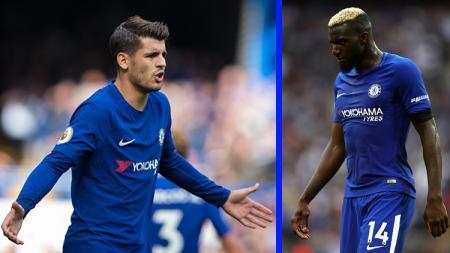 Chelsea diyakini mendapat pemasuk melimpah pada musim panas setelah dua pemainnya, Alvaro Morata dan Tiemoue Bakayoko, bakal dilego dengan total Rp1,5 triliun - INDOSPORT