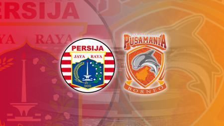 Persija Jakarta vs Borneo FC. - INDOSPORT