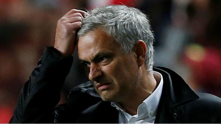 Pelatih Manchester United, Jose Mourinho Copyright: Reuters