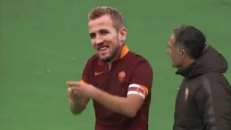 Harry Kane berseragam AS Roma - INDOSPORT