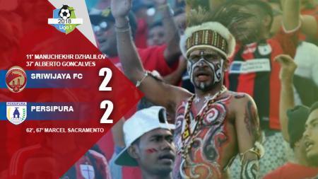 Sriwijaya FC vs Persipura. - INDOSPORT