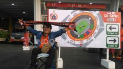 Indosport - Saiful, salah satu Jakmania dari Srengseng.